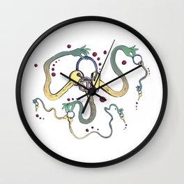 Handsy Keys by Maisie Cross Wall Clock