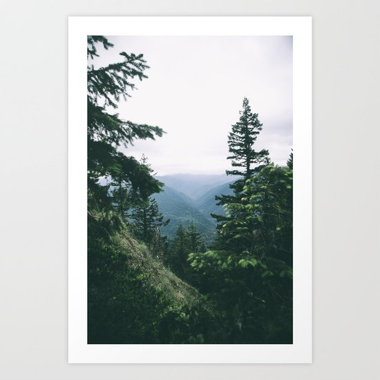 Oregon II Art Print