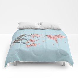 Blossom Bird  Comforters