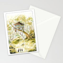 Bird Dude Dunlin's Home - Parsley Merlin and Beatrice Page Stationery Cards