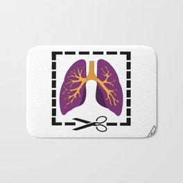 Cut My Lung Bath Mat