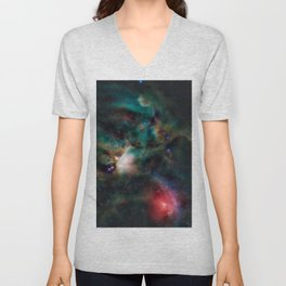 Rho Ophiuchi Cloud Complex Unisex V-Neck