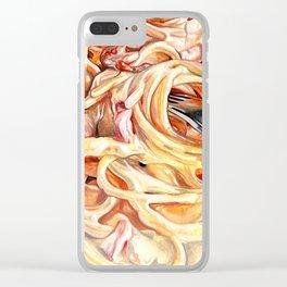 Spaghetti Clear iPhone Case