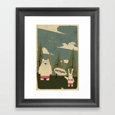 copycat ! Framed Art Print