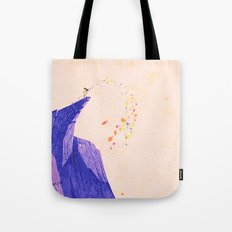 just around the riverbend... Tote Bag