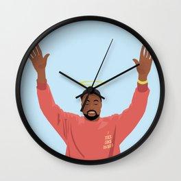 God Pablo Wall Clock