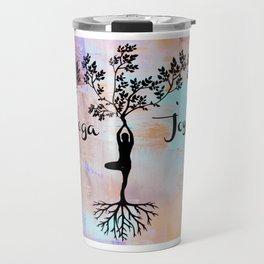 Yoga Joy Travel Mug