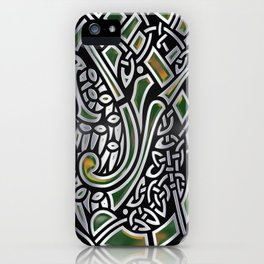 Celtic Birds Knot Work 3D iPhone Case