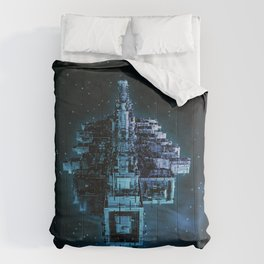 Leviathan BLUE / Keep on trucking Comforters