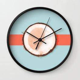 Coconut Wall Clock