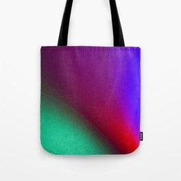 Rainbow colour waves Tote Bag