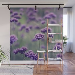 Last of summer buds Wall Mural