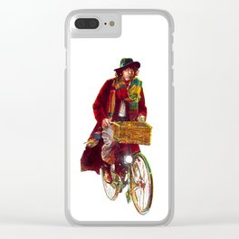 Bicycle Who Clear iPhone Case