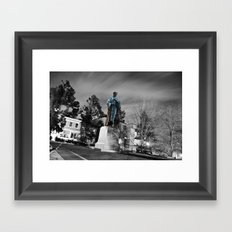 Travel with me, Trough Purgatory! Framed Art Print