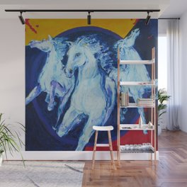 My Dream: Three Horses from the Stars Wall Mural