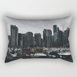 Vancouver Skyline 2 Rectangular Pillow