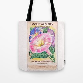 Morning Glory Seed Pack Tote Bag