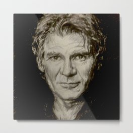 Harrison Ford Metal Print