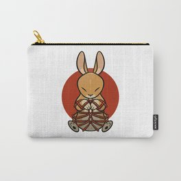 Rope Bunny Carry-All Pouch