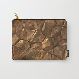 Copper rock surface Carry-All Pouch