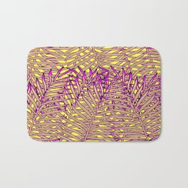 Neon Tropic Bath Mat