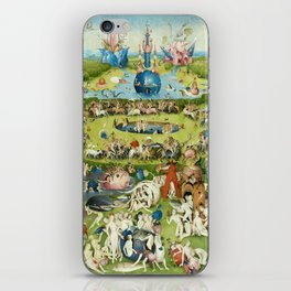 The Garden of Earthly Delights by Hieronymus Bosch iPhone Skin