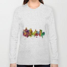 Galway Ireland Skyline Long Sleeve T-shirt