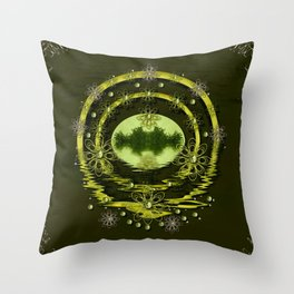 One horizon one Island for humankind decorative Throw Pillow
