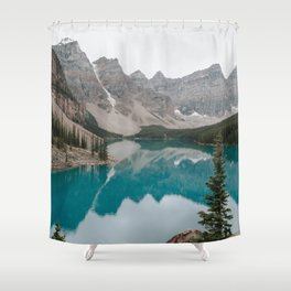 Moraine Lake, Banff National Park Shower Curtain