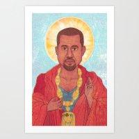 rap Art Prints featuring Rap God by Ashley Ross