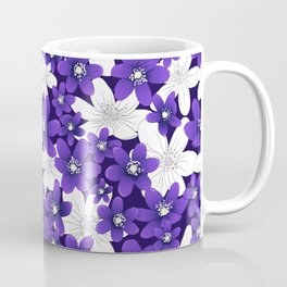 Ultra Violet Garden Coffee Mug