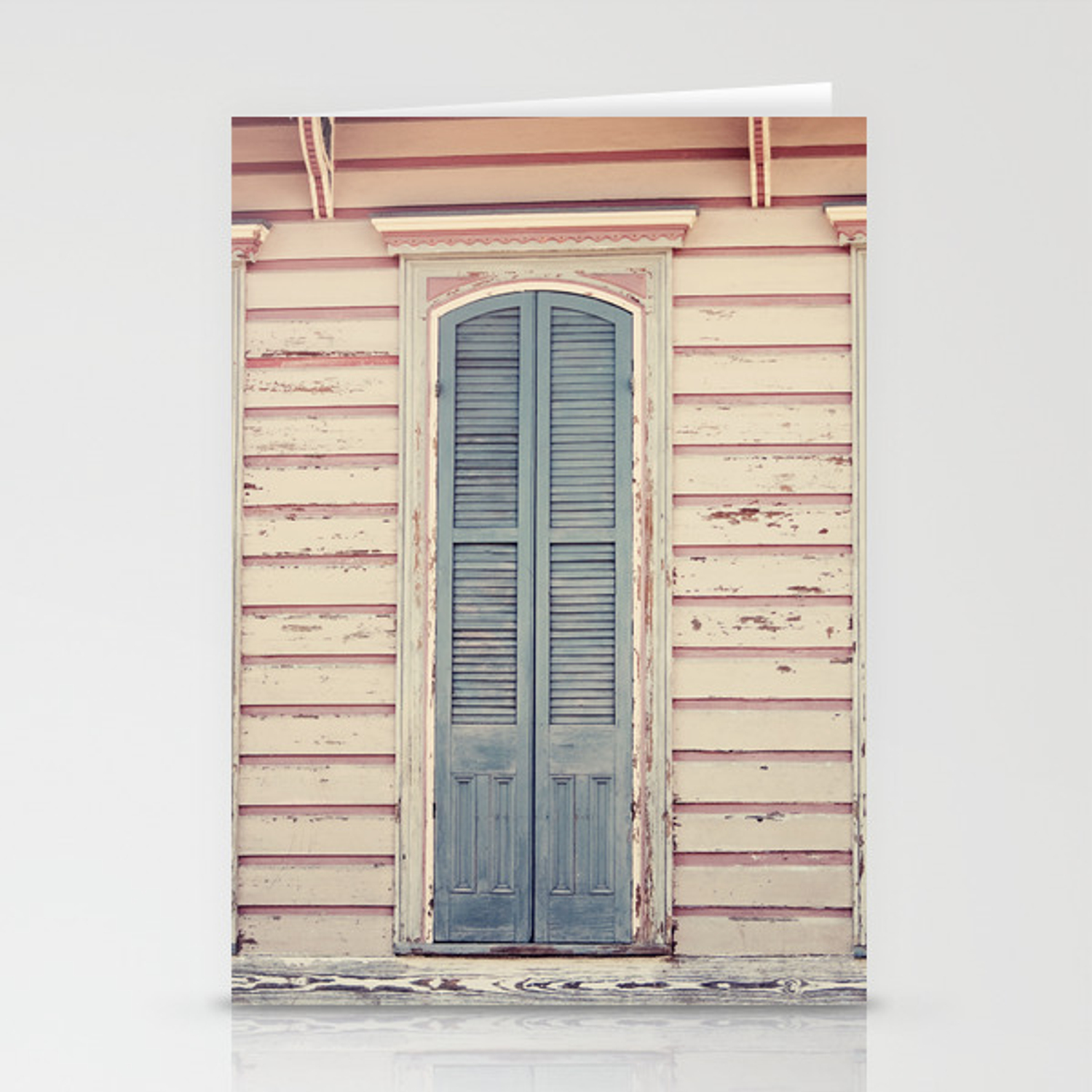 Three Shutters New Orleans French Quarter Stationery Cards By Erinjohnsonphotography