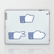 I Like Rock, Paper, Scissors Laptop & iPad Skin