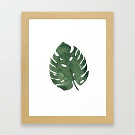 Tropical love Framed Art Print