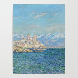 Claude Monet - Antibes, Afternoon Effect Poster