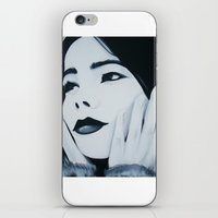 bjork iPhone & iPod Skins featuring Bjork Muse by ByrneDarkly