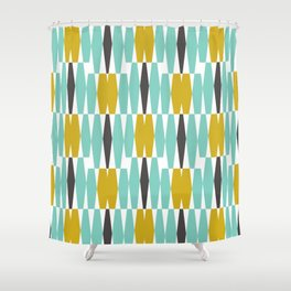 Nice Abacus Shower Curtain