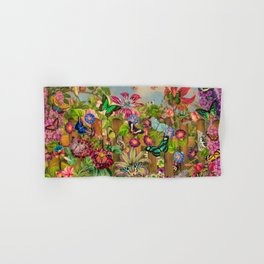 Butterfly Garden Hand & Bath Towel