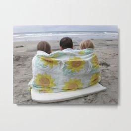 Beach Babes Metal Print