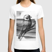 sparrow T-shirts featuring Sparrow by Chuchuligoff