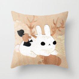 Wolpertinger Throw Pillow