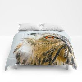 Eurasian Eagle Owl Comforters