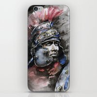 gladiator iPhone & iPod Skins featuring Gladiator by Glashka