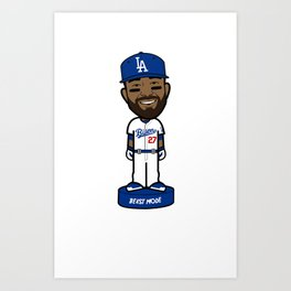 """THE VICTRS """"The Bison"""" Bobble Toon Art Print"""