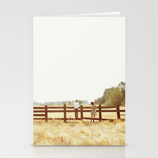 Fence Standing Stationery Cards