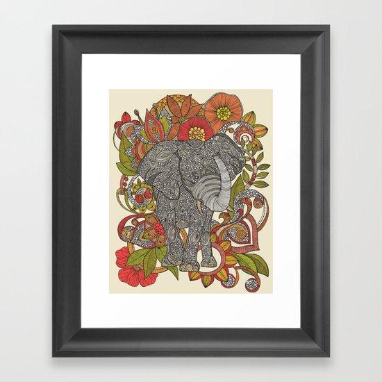 Bo the elephant Framed Art Print