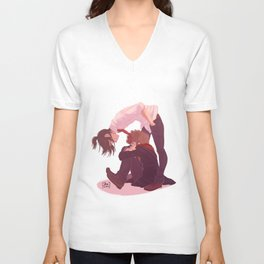 What's up Moony? Unisex V-Neck