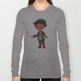 Horror Hipsters - Freddy Krueger Long Sleeve T-shirt