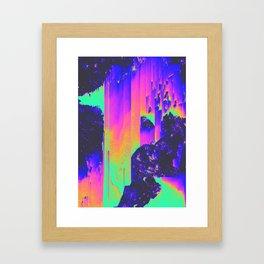 SHE'S MY COLLAR Framed Art Print