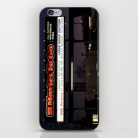 movies iPhone & iPod Skins featuring Movies over here by Vorona Photography